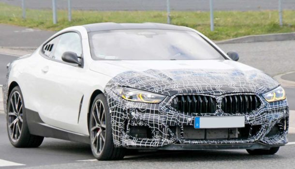 BMW Serie 8 Coupé - Prototipo