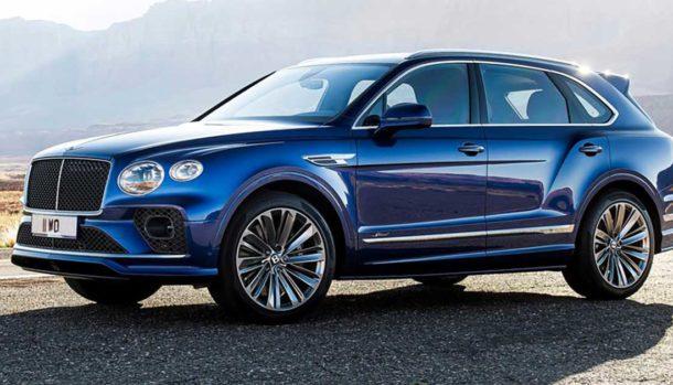 Nuova Bentley Bentayga Speed