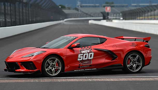 Chevrolet Corvette Stingray C8 Indy 500 Pace Cars