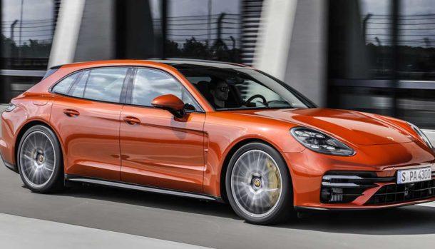 Nuova Porsche Panamera Turbo S
