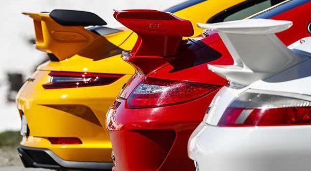 Motore aspirato - Porsche