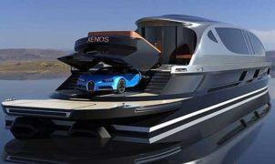Xenos hyperyacht Bugatti