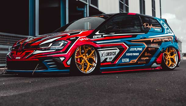 Volkswagen Golf GTI Clubsport by Yido Performance