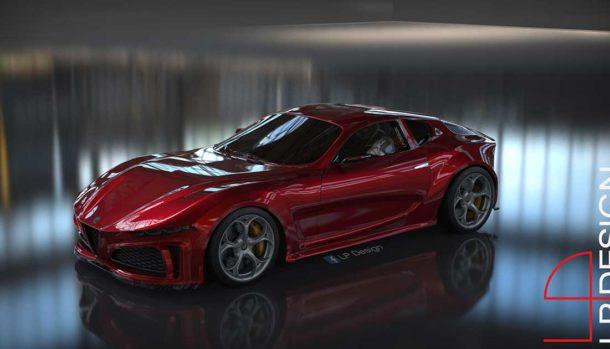 Alfa Romeo 6C Concept by LP Design