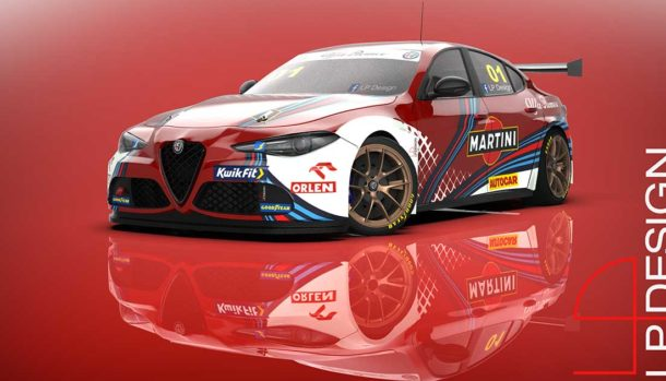 Alfa Romeo Giulia Veloce BTCC