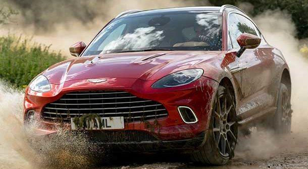 Aston Martin DBX Hyper Red 2021