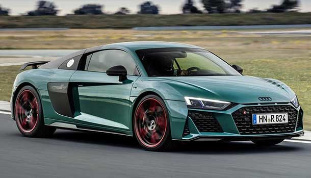 Audi R8 green hell