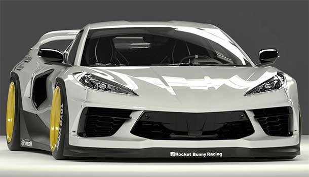 Chevrolet Corvette C8 Pandem: