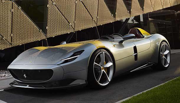 Compasso d'Oro 2020 - Ferrari SP1 Monza
