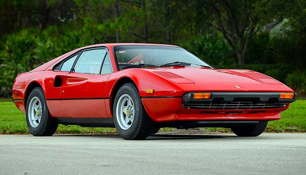 Ferrari 308 GTB - James May - Salone Auto e Moto d'Epoca
