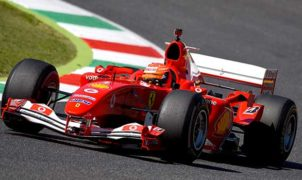 Vettel - Ferrari F2004