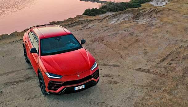 Lamborghini Urus - Sicília