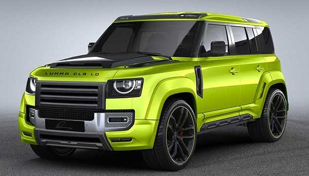 Lumma Design Land Rover Defender