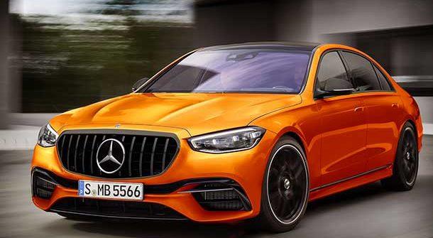 Mercedes-AMG S63 2021