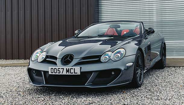 Mercedes-Benz SLR McLaren Edition Roadster by MSO