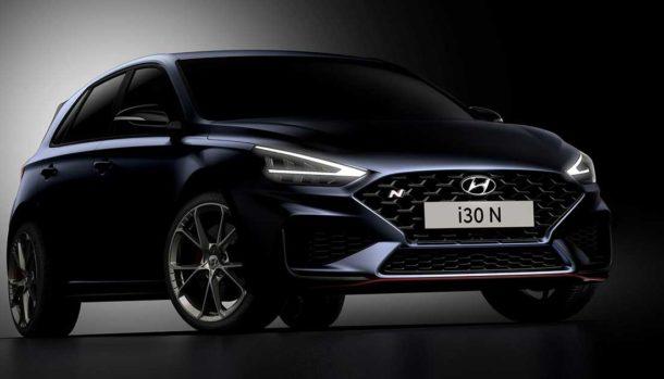 Nuova Hyundai i30 N