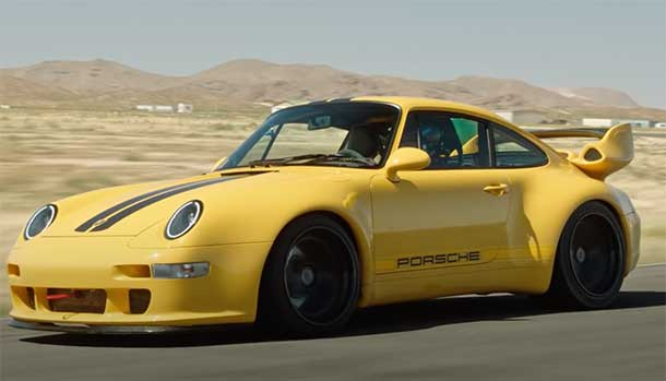 Porsche 993 remastered by Gunther Werks