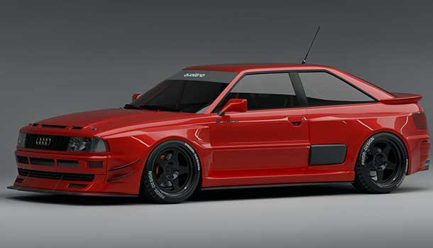 Audi RS2 Coupé by Prior Design
