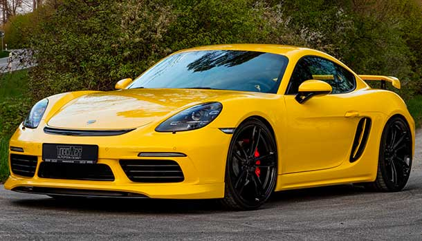 Porsche 718 Cayman by TechArt