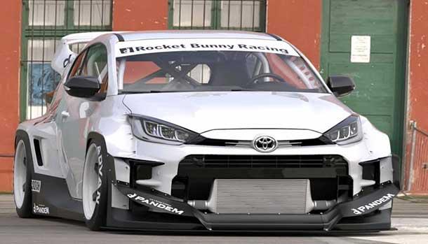 Toyota GR Yaris Pandem Rocket Bunny