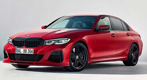 Alpina B3 Imola Red Metallic