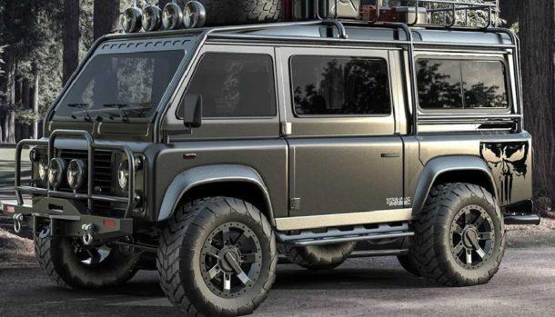 Land Rover Defender Van