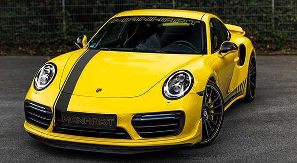Porsche 911 Turbo S by Manhart