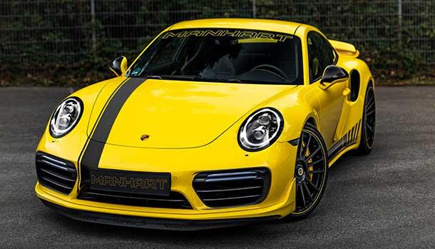Porsche 911 Turbo S by Manhart