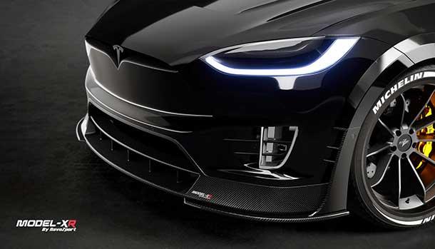 Tesla Model X by RevoZport