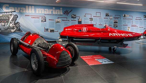 Alfa Romeo - Cavalli Marini