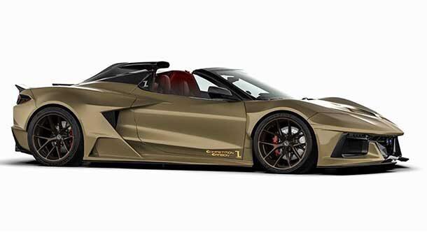 Chevrolet Corvette C8 Stingray by Competition Carbon