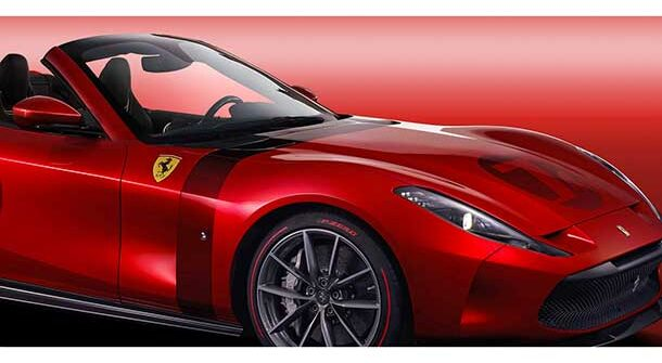 Ferrari Omologata Spider - Render