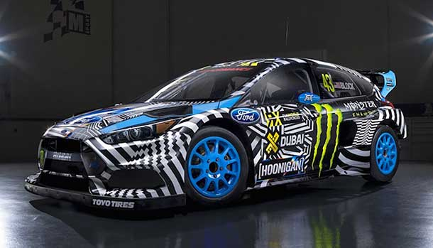 Ken Block - Ford Focus RS RX