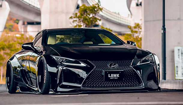 Lexus LC500 by Liberty Walk