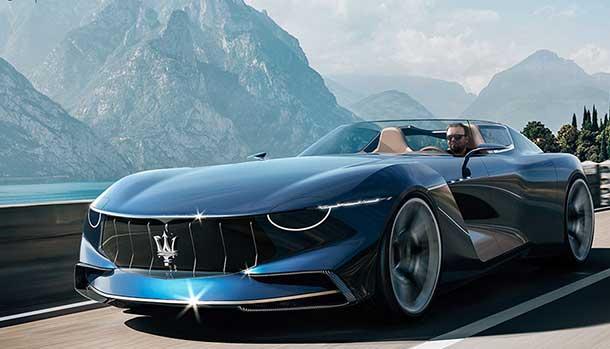 Maserati GranTurismo Targa Concept