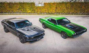 Mustang SVT - Dodge Challenger Hellcat