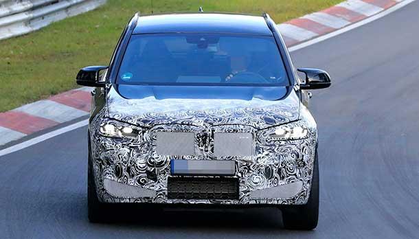 Nuova BMW X3 M 2021