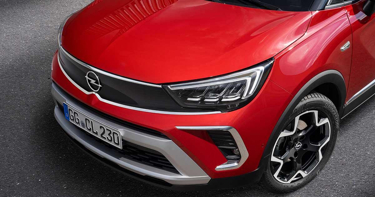 Un cambio radicale di look per il nuovo Opel Crossland ...