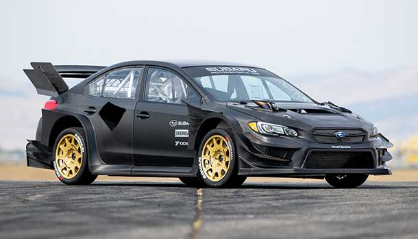 The Gymkhana File - Subaru WRX STI