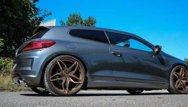 Volkswagen Scirocco R by Cor.Speed
