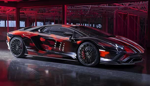 Lamborghini Lounge Tokyo