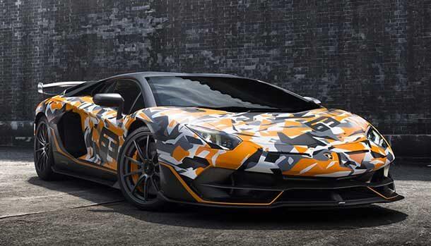 Lamborghini Aventador SVJ 63 Tribute to Ring