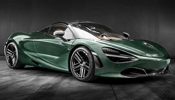 McLaren 720S British Racing Green