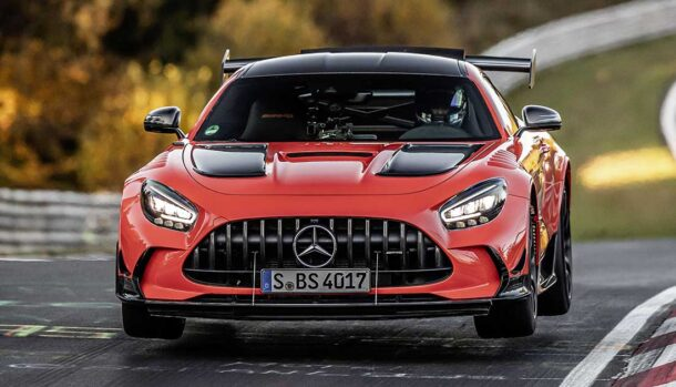 AMG GT Black Series - Giro record al Nurburgring