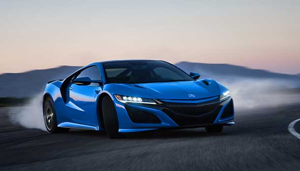 Acura NSX Long Beach Blue Pearl