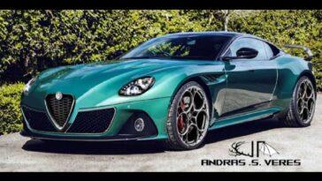 Alfa Romeo 8C - Render
