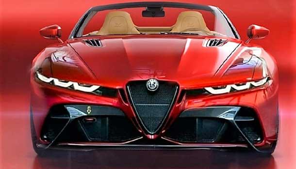 Alfa Romeo Spider - Render