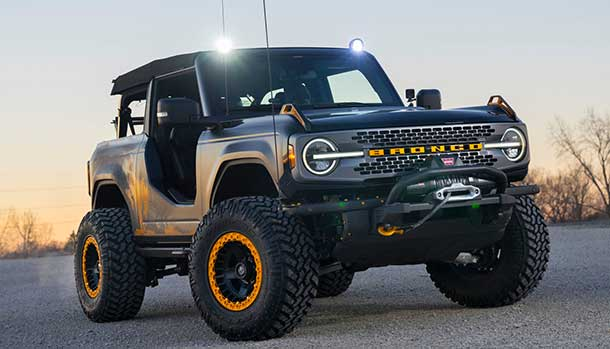 Bronco Badlands Sasquatch Two-Door Concept