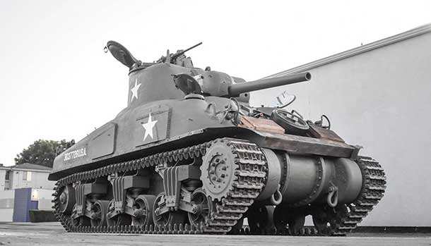 Carro armato M4A1 Grizzly