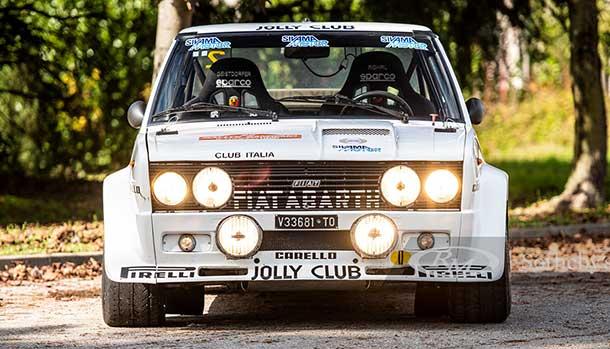 Fiat 131 Abarth - Walter Rohrl